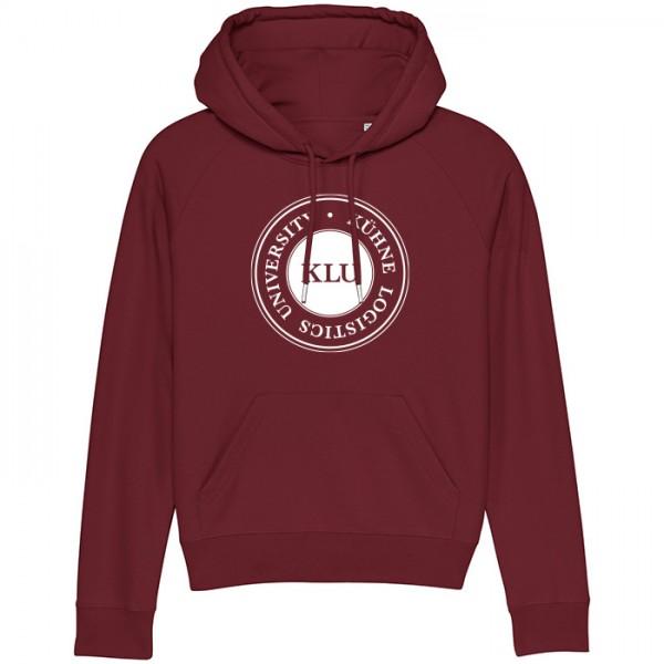 hoodie women burgundy